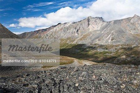 Bewölkt Range, Ogilvie Mountains, Tombstone Territorial Park, Yukon, Kanada