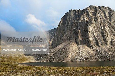 Talus Lake und Tombstone Range, Ogilvie Mountains, Tombstone Territorial Park, Yukon, Kanada