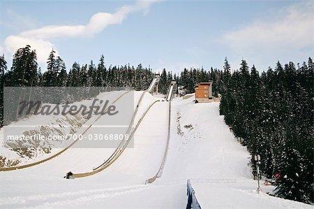Saut à ski, Whistler, Colombie-Britannique, Canada