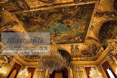 Appartements de Napoléon III, Musée du Louvre, Paris, Ile de France, France