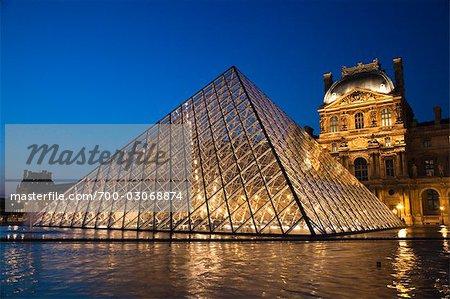Le Musée du Louvre, Paris, Ile de France France