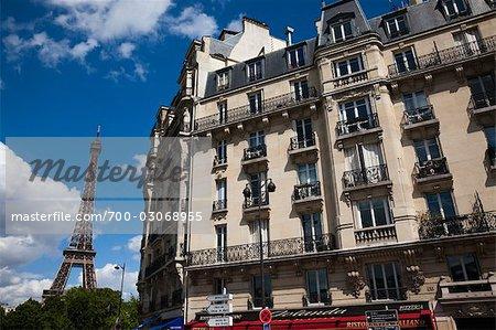 La tour Eiffel, Paris, Ile de France, France