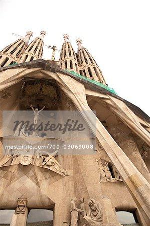 La Sagrada Familia, Barcelona, Catalonia, Spain