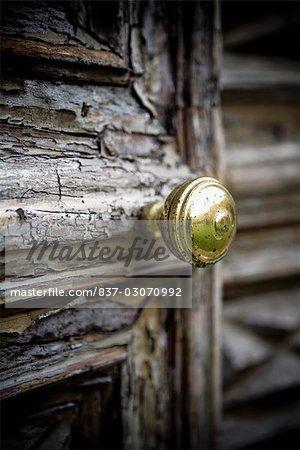 Close-up of a door knob,Torre Pallavicina,Bergamo Province,Lombardy,Italy
