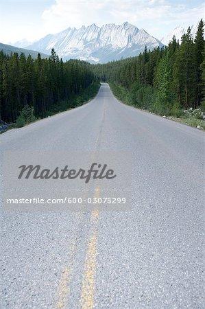 Maligne Road, Colin Range, Rocky Mountains, Jasper National Park, Alberta, Canada