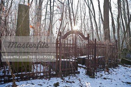 Okopowa Straße jüdischer Friedhof, Warschau, Polen