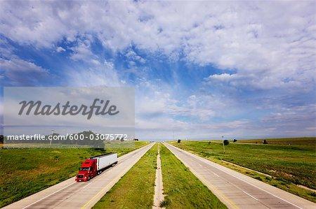 L'Interstate 40, Texas, USA
