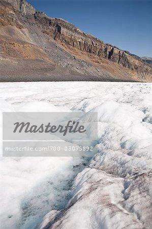 Glacier, Columbia Icefield, Alberta, Canada