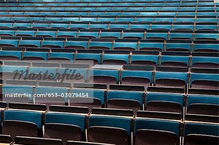 Ein leeres auditorium