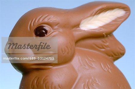 Lapins de Pâques au chocolat