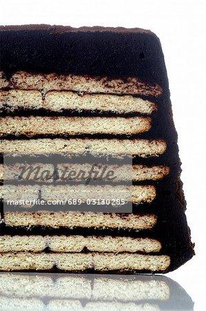 Gâteau au chocolat cookie