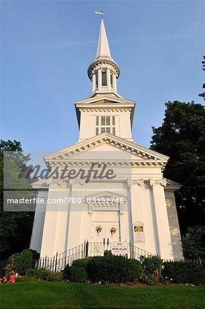 First Church of Christ, Sandwich, Cape Cod, Massachusetts, USA