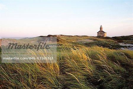 BLOCK ISLAND, RHODE ISLAND NORTH POINT LIGHTHOUSE