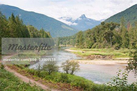 Slocan River, Colombie-Britannique, Canada