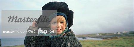 Portrait of Little Girl, Ireland