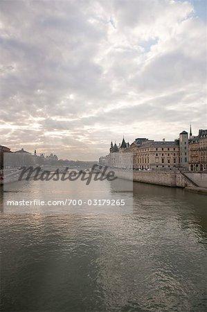 Rivière Seine, Paris, Ile-de-France, France