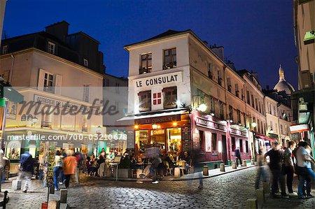 Montmartre, Paris, Ile de France, France