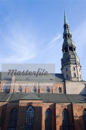 Saint Peter Church, Old Town, Riga, Riga District, Lettonie