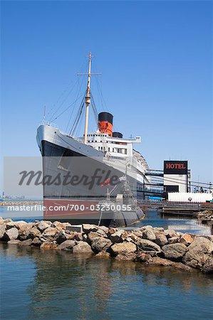 "Hotel Schiff """"Queen Mary"""", Long Beach, Kalifornien, USA"
