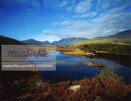 Upper Lake, Black Valley, Killarney, County Kerry, Irland; Malerischen See
