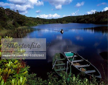 Salmon Fishing, Ballinahinch, Connemara, co. Galway, Irlande