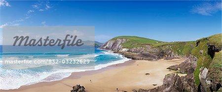 Coumenoole Beach, péninsule Dingle, co. Kerry, Irlande