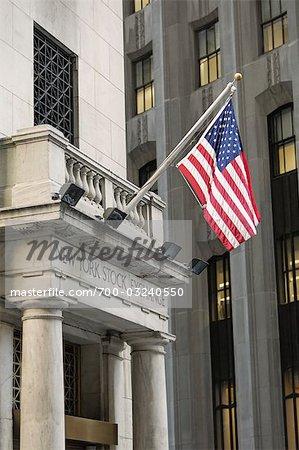 New York Stock Exchange, Manhattan, New York City, New York, États-Unis