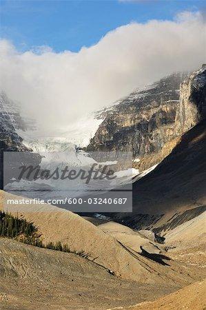 Dôme Glacier, champ de glace Columbia, Parc National Jasper, Alberta, Canada