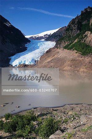 Bear Glacier, Parc Provincial de Bear Glacier, Colombie-Britannique, Canada