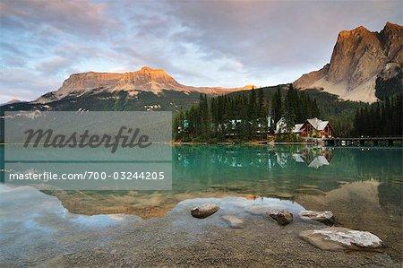 Lac Emerald, Parc National Yoho, en Colombie-Britannique, Canada