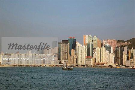 Ligne d'horizon de Kowloon, Hong Kong North Point