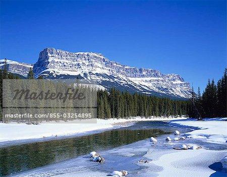 Castle Mountain, Parc National Banff, Canada