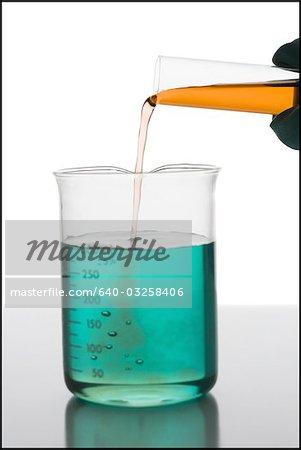 Mélange de produits chimiques