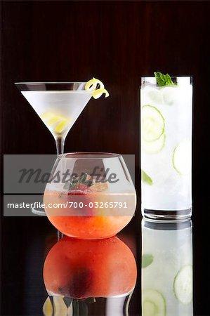 Still Life of Cocktails