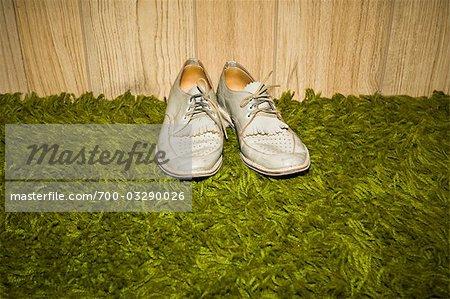 Shoes on Shag Carpet