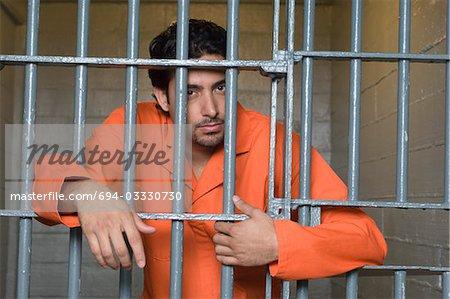 Portrait du détenu en prison
