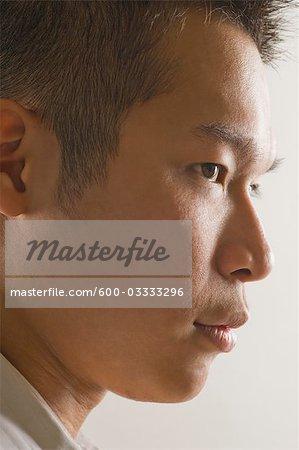 Voir le profil:: Man Close-up