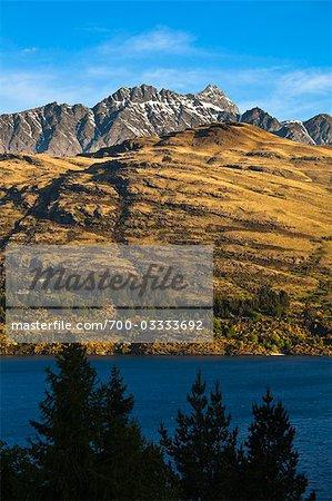 Le Remarkables de Queenstown, île du Sud, Nouvelle-Zélande