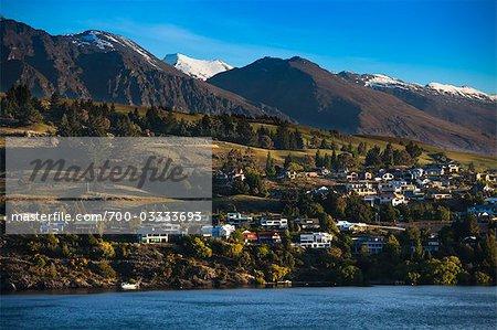 Le Remarkables, Queenstown, île du Sud, Nouvelle-Zélande