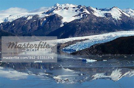 Gris Glacier & Lago Grey.