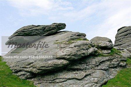 Haytor, Dartmoor, South Devon, Angleterre