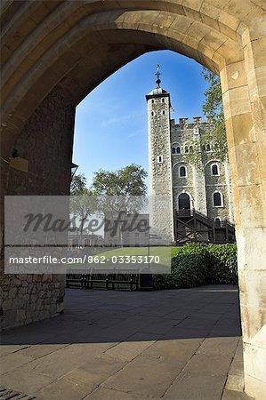 Extérieur de la tour de Londres
