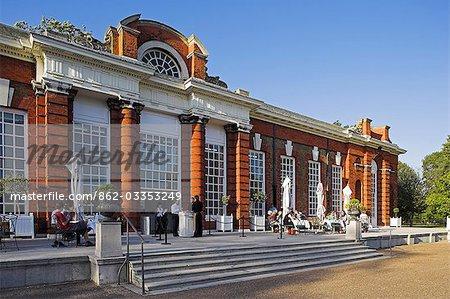 The orangerie at Kensington Palace.