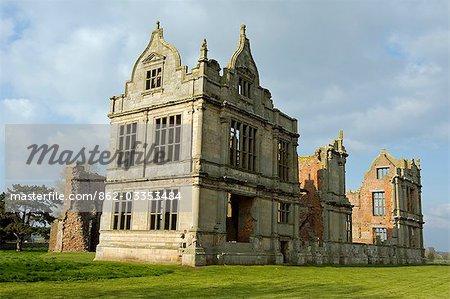 Angleterre, Shropshire, Moreton Corbet. Château de Moreton Corbet.