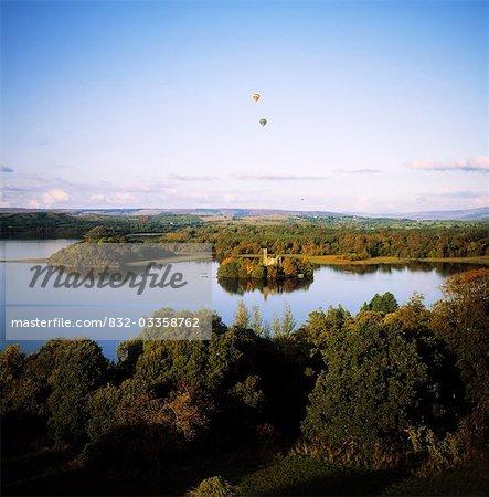 Castleisland Lough Key Forest Park, Boyle, Co Roscommon, Irland