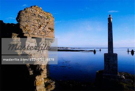 Château sur les îles d'Aran, Inishmore, Co Galway, Irlande