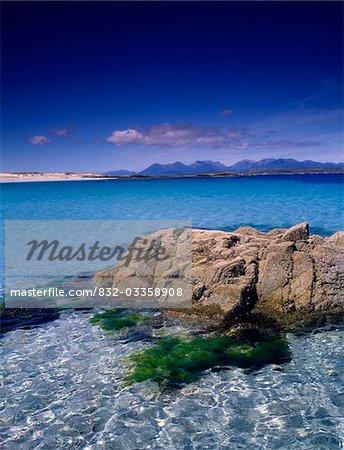 Mannin Bay avec 12 broches, Co Galway, Irlande