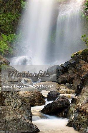 Philippines,Luzon Island,The Cordillera Mountains,Banga-an near Sagada. Bomod (Big) Waterfall.