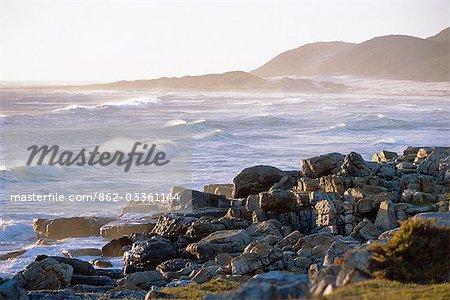 Coucher de soleil au Cap de bonne espérance