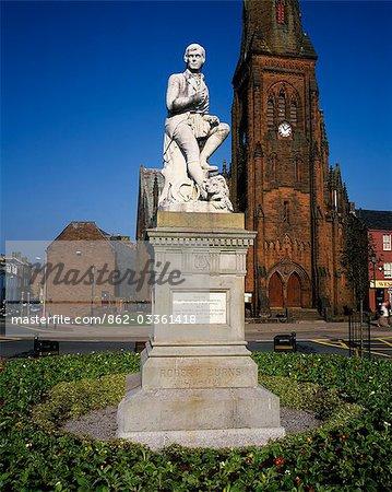 Burns Statue,Dumfries.
